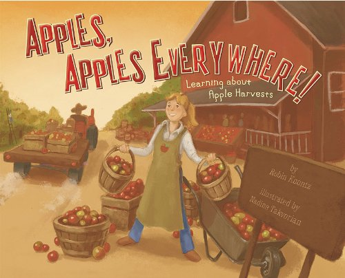 9781404863880: Apples, Apples Everywhere!: Learning About Apple Harvests (Autumn)