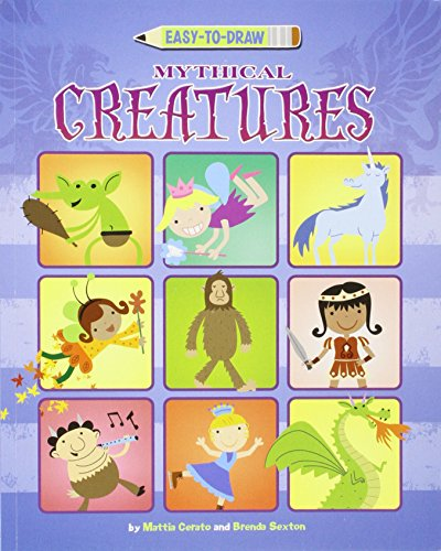 9781404870598: Easy-to-Draw Mythical Creatures (You Can Draw)