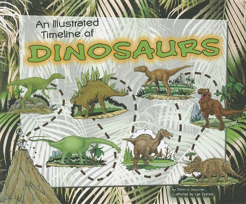 9781404871625: An Illustrated Timeline of Dinosaurs (Visual Timelines in History)