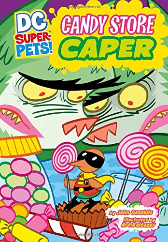 9781404872141: Candy Store Caper (DC Super-Pets)