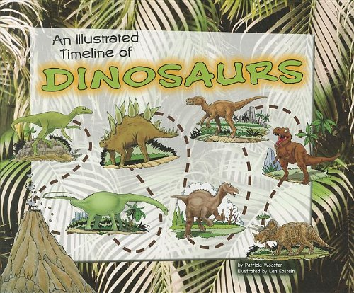 9781404872530: An Illustrated Timeline of Dinosaurs (Visual Timelines in History)