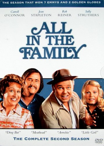 9781404925274: All in the Family - The Complete Second Season [Import USA Zone 1]