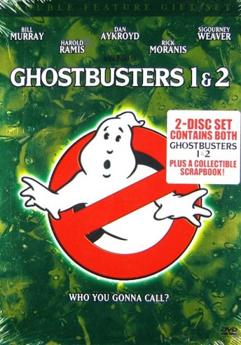 9781404956575: Ghostbusters Double Feature Gift Set (Ghostbusters / Ghostbusters 2 + Commemorative Book)