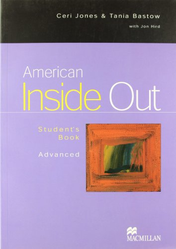 9781405002561: American Inside Out: Student's Book, Advanced Level