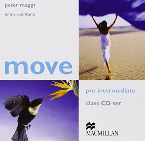 Move Pre Intermediate Class CDx2: Class Audio: Maggs, Peter