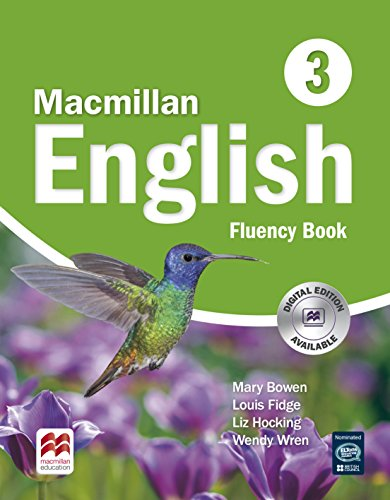 MACMILLAN ENGLISH 3 FLUENCY BOOK: SIN AUTOR