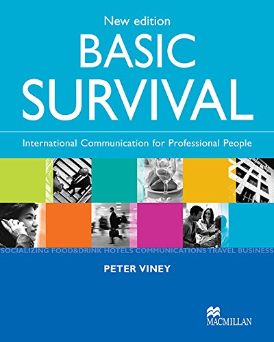 9781405003933: SURVIVAL ENGLISH BASIC Sts: Student Book with CDs: Level 2