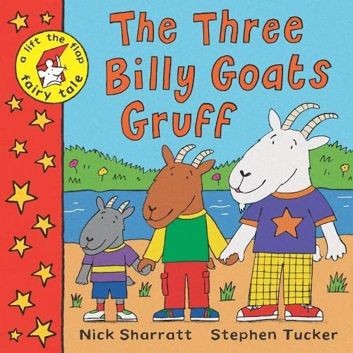 9781405004374: The Three Billy Goats Gruff: A Lift-the-Flap Fairy Tale