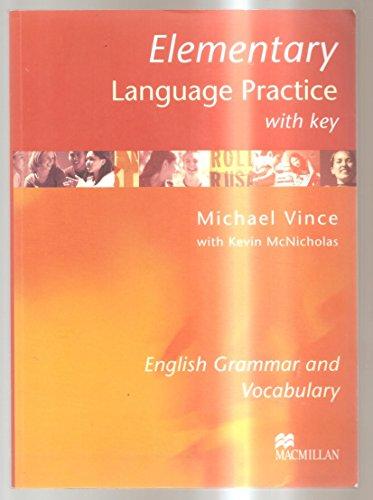 9781405007641: Elementary Language Practice: With Key