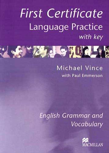 9781405007665: New first certificate language practice. With key. Per le Scuole superiori