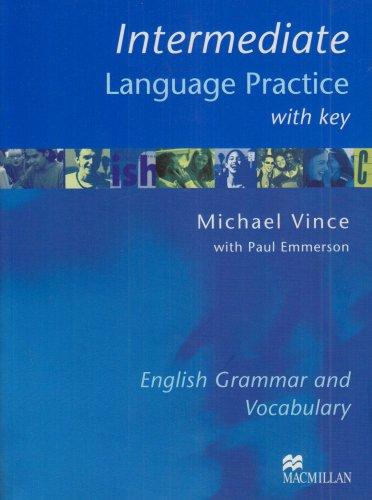 9781405007689: Intermediate Language Practice: With Key