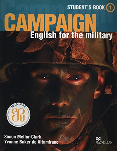 9781405009805: Campaign 1- Student's Book English for the Military