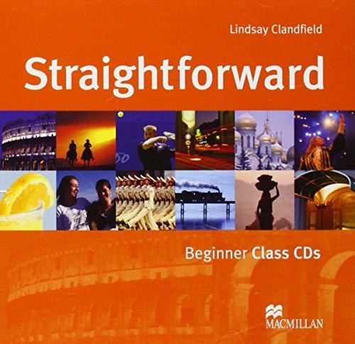 9781405010566: Straightforward Beginner: Class Audio-CD