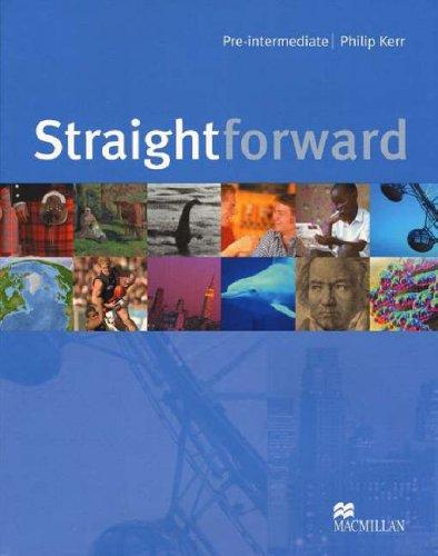 9781405010573: Straightforward Pre-Intermediate: Student's Book