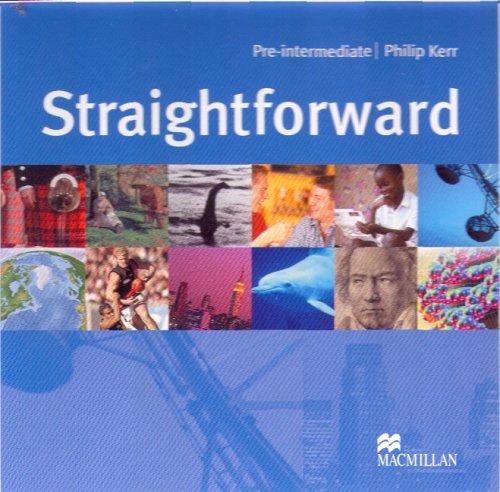 9781405010627: Straightforward Pre-Intermediate Class Audio CD