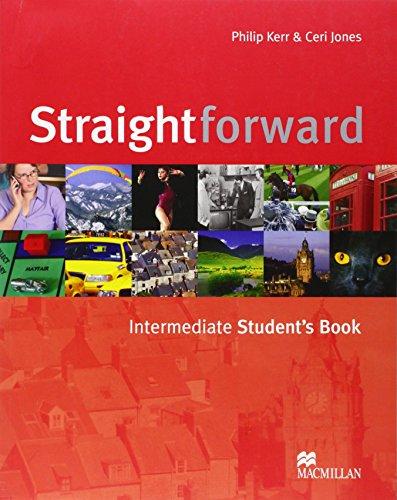9781405010658: Straightforward. Intermediate. Student's book. Per le Scuole superiori