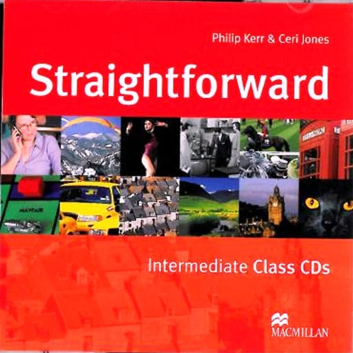 9781405010702: Straight Forward Intermediate Class CD: Class Audio CD