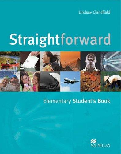 9781405010733: Straightforward. Elementary. Student's book. Per le Scuole superiori