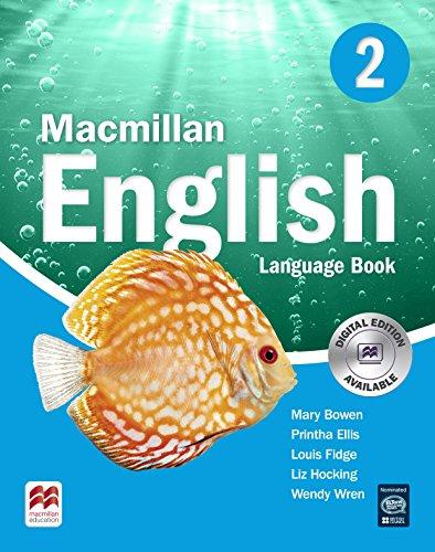 9781405013680: Macmillan English 2 Language Book