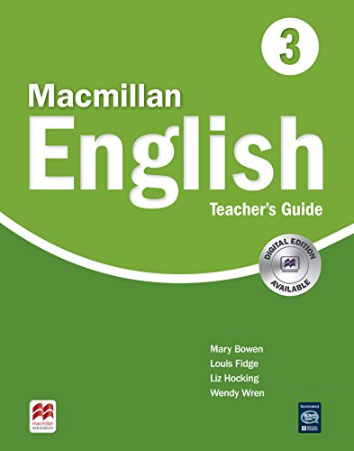9781405013758: Macmillan English 3 Teachers Guide (High Level Primary ELT Course for the Middle East)