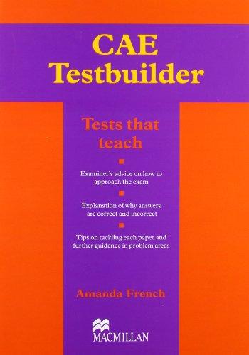 9781405014014: CAE Testbuilder: Without Key