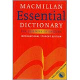 9781405014267: Macmillan Essential Dictionary For Learners of English
