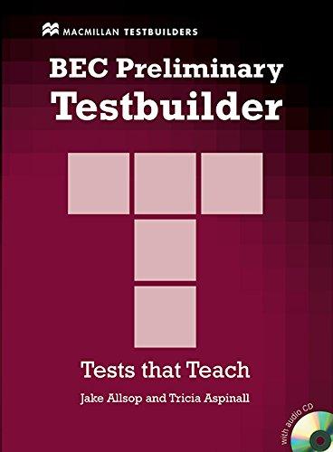 9781405018333: BEC PRELIM TESTBUILDER Pk