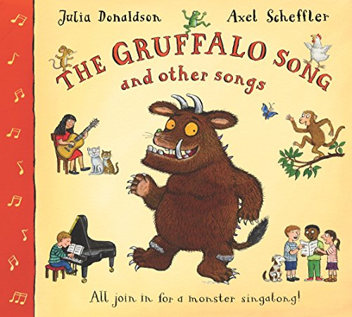 9781405022347: The Gruffalo Song and Other Songs (Book & CD)