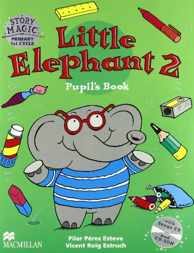9781405025720: Little Elephant 2 Pb&CD-Rom Pack