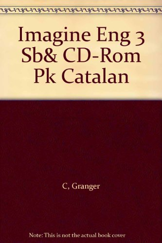 9781405026475: Imagine Eng 3 Sb& CD-Rom Pk Catalan