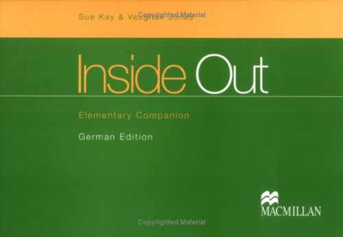 9781405028035: Inside Out: Elementary: German Companion (English and German Edition)
