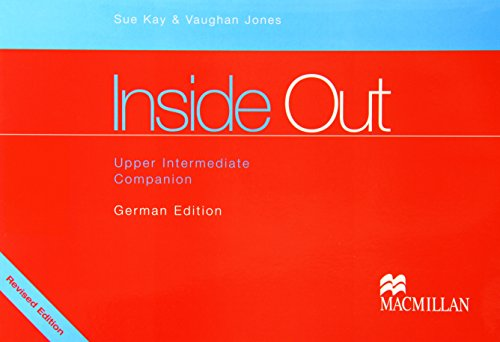 9781405028318: Inside Out Upper Intermediate Companion German Edition