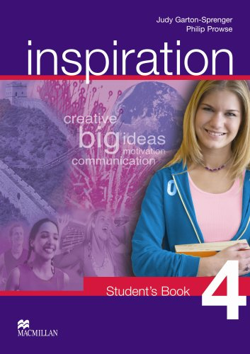9781405029506: Inspiration - Student Book 4 - CEF B1
