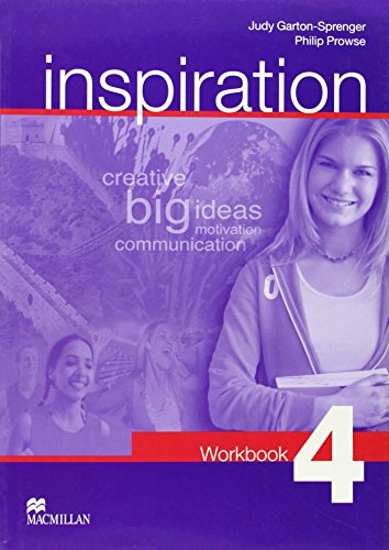 9781405029513: Inspiration - Workbook 4 - CEF B1