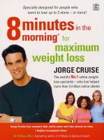 9781405041805: 8 Minutes in the Morning for Maximum Weight Loss: Specially designed for people who want to lose 2 stone - or more