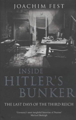 9781405045902: Inside Hitler's Bunker
