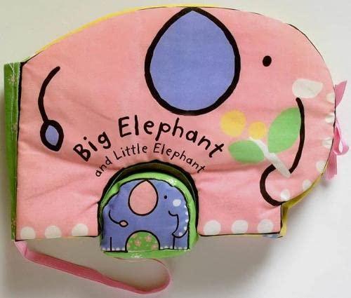 9781405047463: Cuddle Books: Big Elephant and Little Elephant