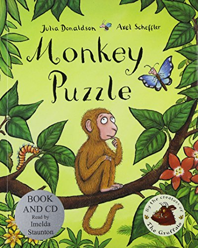 9781405051064: Monkey Puzzle Book and CD Pack (Book & CD)