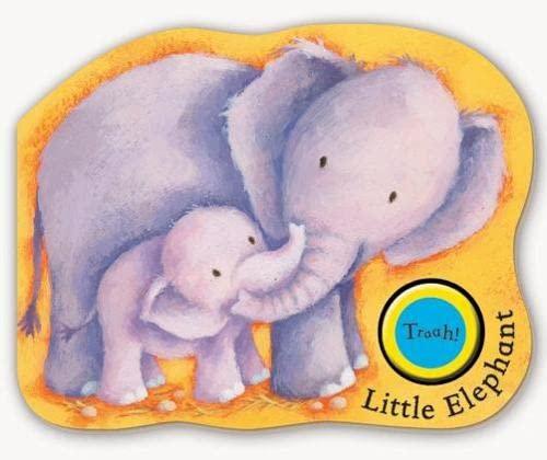 9781405052443: Noisy Jungle Babies: Little Elephant