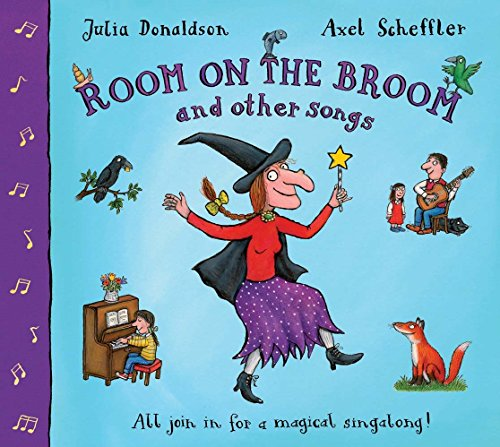 9781405053662: The Room on the Broom and Other Songs