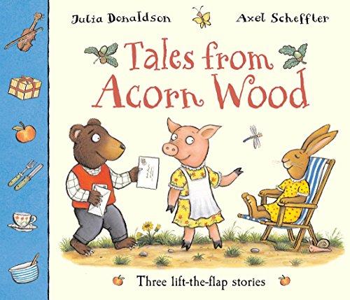 9781405053891: Tales From Acorn Wood: Three lift-the-flap stories