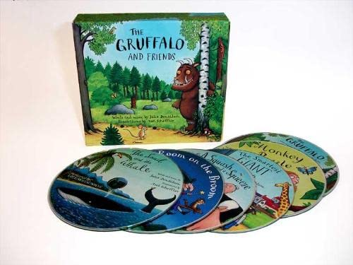 9781405054119: The Gruffalo and Friends CD Box Set