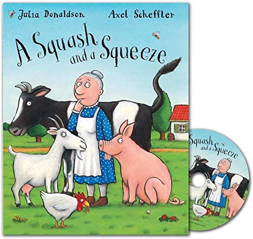 9781405055284: A Squash and a Squeeze Book and CD pack