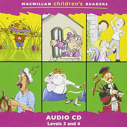 9781405057332: Macmillan Children's Readers: Levels 3-4: Audio-CD