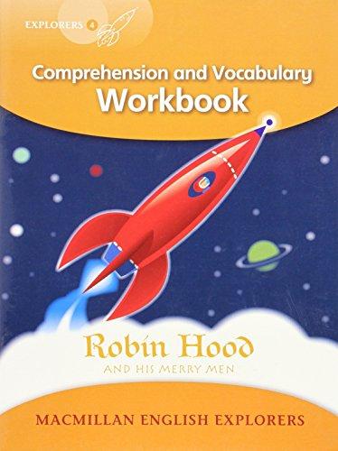 9781405060936: Explorers Level 4: Robin Hood - Comprehension and Vocabulary Workbook