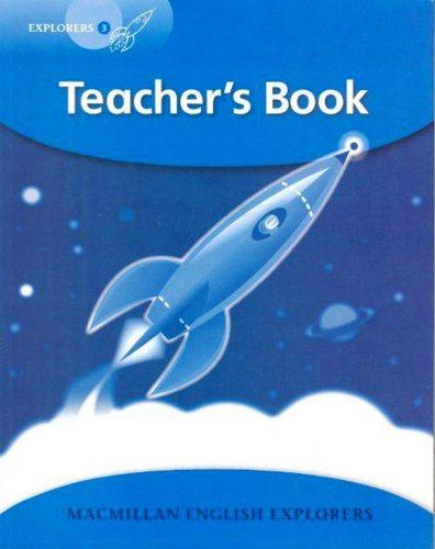 9781405061230: Explorers Level 3: Teacher's Book (High Level Primary Readers for Middle East ELT Course)