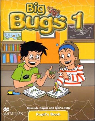 9781405061698: Big Bugs 1 Pupil's Book A1 Beginner