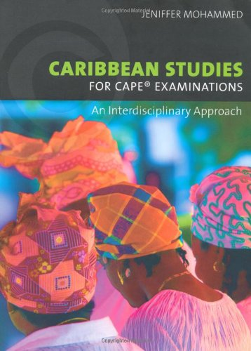 9781405062978: Caribbean Studies for CAPE Examinations: An Interdisciplinary Approach