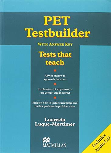 9781405063012: PET Testbuilder