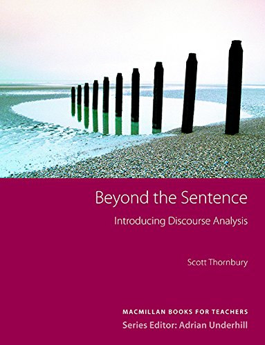 9781405064071: Beyond the Sentence: Introducing Discourse Analysis (Methodology)